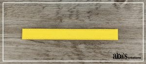 bracelet de montre jaune poiray ou oj perrin
