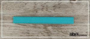 bracelet de montre bleu lagon poiray ou oj perrin