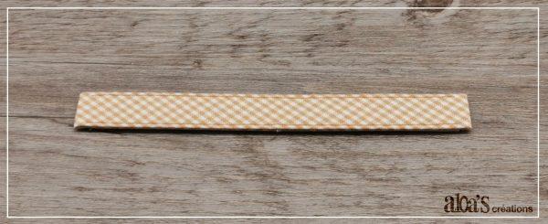 bracelet de montre lanière vichy poiray ou oj perrin