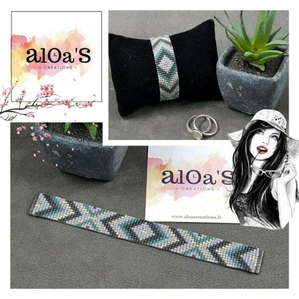 bracelet_montre-poiray-ojperrin-aloascreations-tissage_perles_miyuki_grises