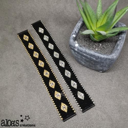 bracelet_montre-poiray-ojperrin-aloascreations-tissé_miyuki-swaroski