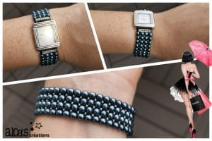 bracelet_montre-poiray-ojperrin-aloascreations_perles-de-culture_grises