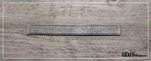 bracelet de montre cuir argent poiray ou oj perrin