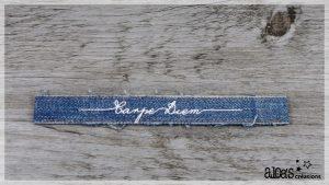 bracelet de montre jeans poiray ou oj perrin