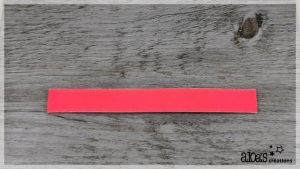 bracelet de montre cuir rose fluo poiray ou oj perrin