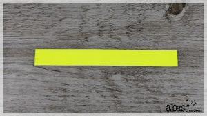 bracelet de montre cuir jaune fluo poiray ou oj perrin